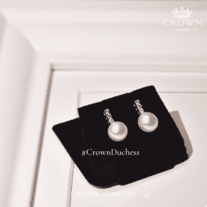 รีวิวต่างหูมุกCrownjewelry